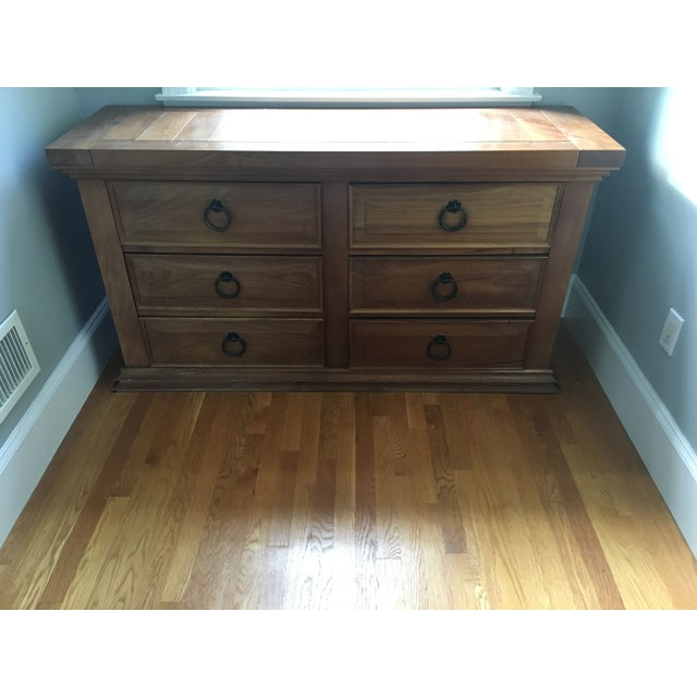 6-Drawer Mahogany Chest - Image 3 of 3