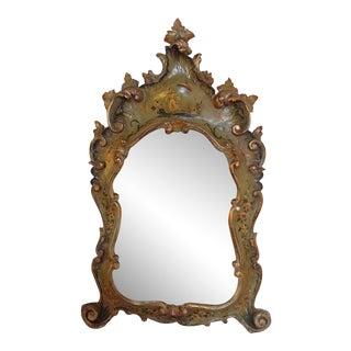 18th Century Chinoiserie Painted Italian Mirror