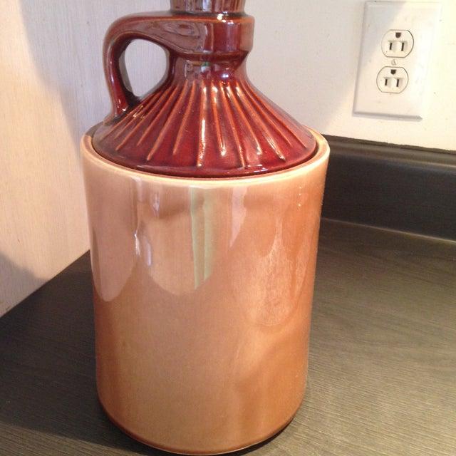 Image of McCoy Vintage Brown Ceramic Cookie Jar