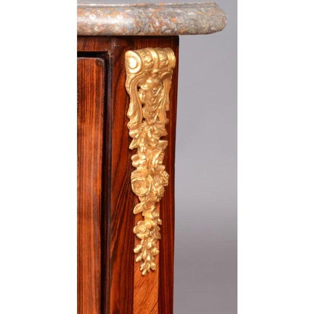Louis XVI Ormolu Marble Top Encoignures - A Pair - Image 3 of 9