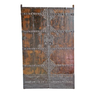 Chinese Old Wood Door
