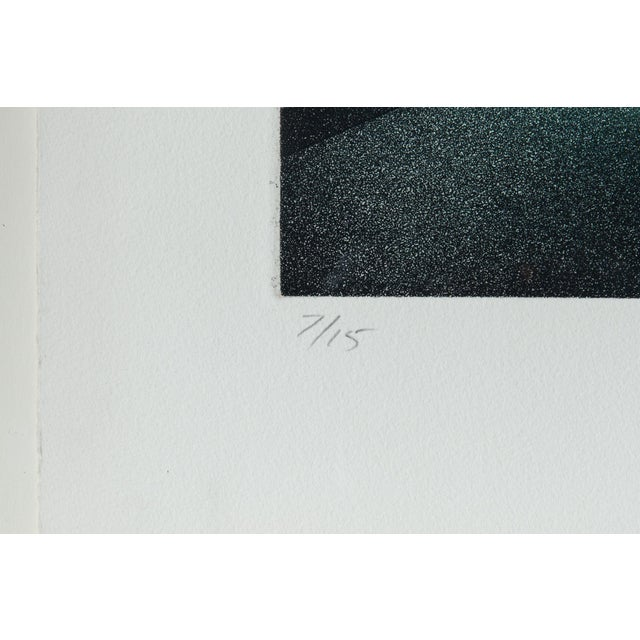 1977 Signed Abstract Lithograph - Image 7 of 7