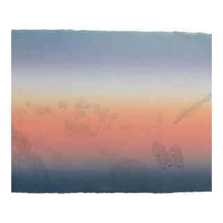 Twilight Sky Monotype