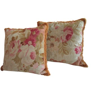 Aubusson Pillows - Pair