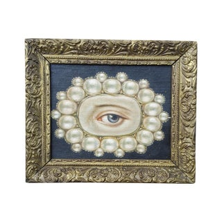 Lovers Eye Pin Oil Painting