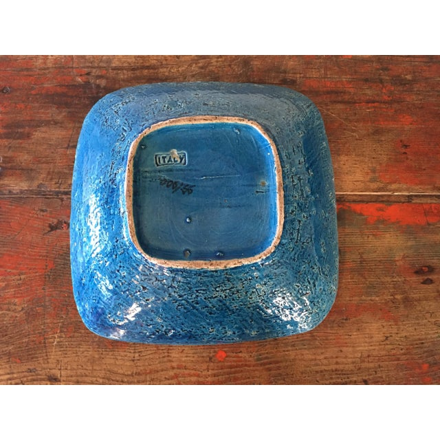 Bitossi Blue Bowl From Italy - Image 5 of 9
