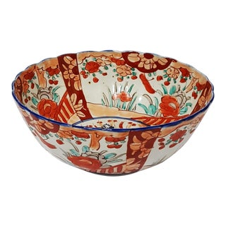 19th Century Large Japanese Imari Arita Bowl