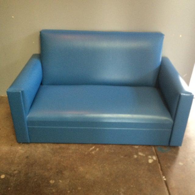 Mid-Century Mini Love Seat - Image 2 of 5
