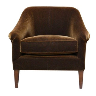 Mitchell Gold Claire Club Chair in Mohair