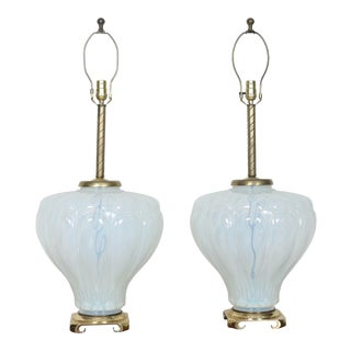 Murano Pair of Lamps
