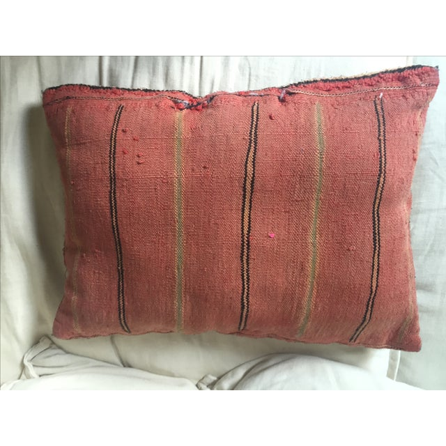 Vintage Turkish Kilim Pillow - Image 6 of 7