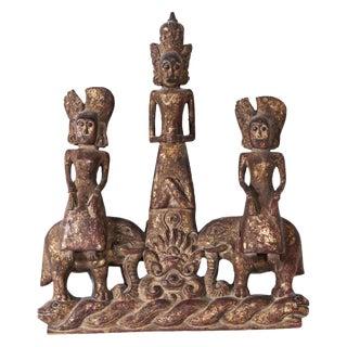 Burmese Carved Fragment