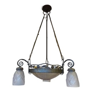 De Vez French Iron Chandelier