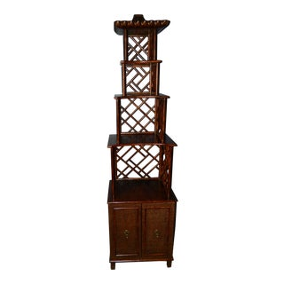 Chippendale Pagoda Etagere