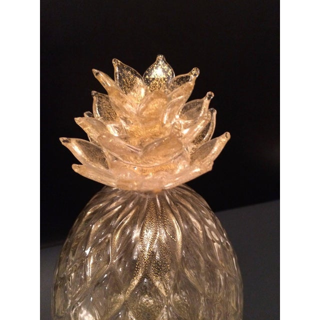Segues Murano Pineapple With Gold - Image 2 of 2