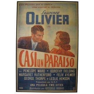Original Spanish Movie Poster