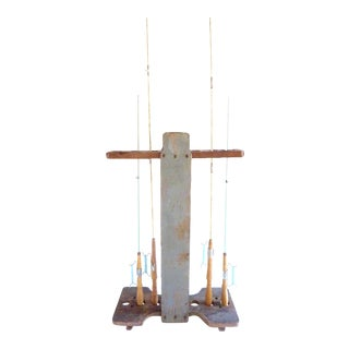Vintage South Bend Croquet/Fishing Rod Stand