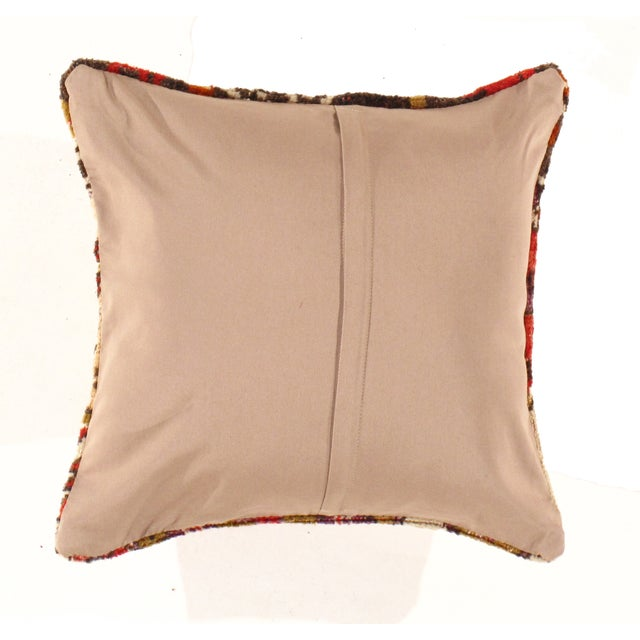 Image of Pasargad Vintage Hand Knotted Rug Pillow