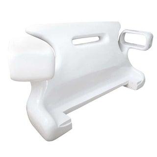 Jordan Mozer White Headboard