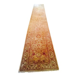 Sultanabad Hand Knotted Rug - 2′7″ × 17′5″