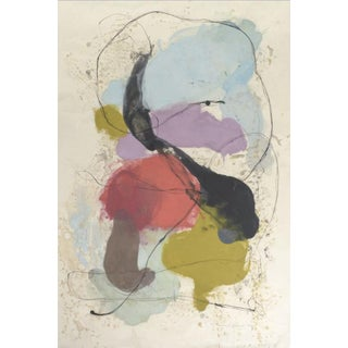 Guna W, 2016, Pigmented wax and ink on okiwara paper by Tracey Adams.
