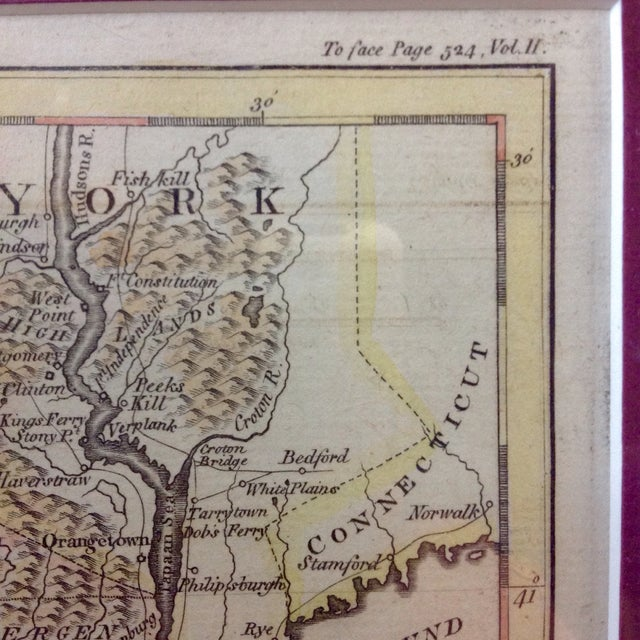 """1788 """"The Jerseys"""" Hand Colored Engraved Map - Image 5 of 10"""