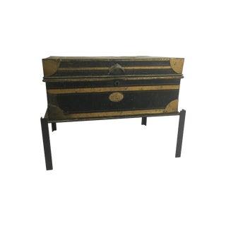 Antique Metal Dispatch Box, Circa 1800's