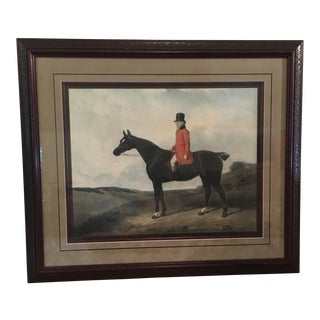 "Abraham Cooper ""Portrait of Daniel Haigh Esq."" Painting"