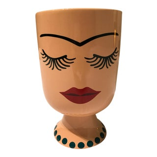 Frida Kahlo Inspired Flower Pot