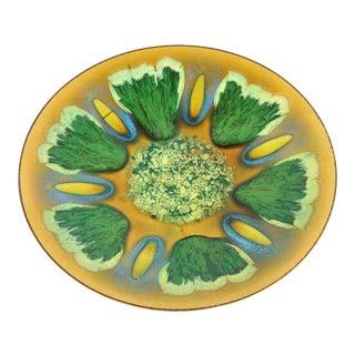 Edwards Star Enamel on Copper Dish