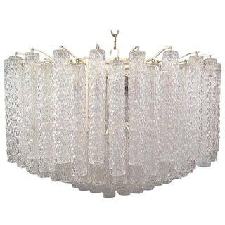 Gorgeous Venini Murano Glass Chandelier