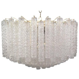 Gorgeous Venini Murano Glass Chandelier