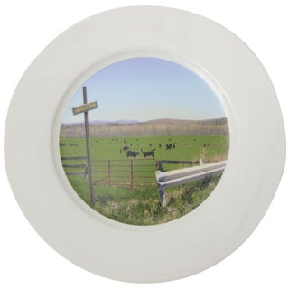 """Upstate Collection"" Porcelain Charger/Serving Plate"