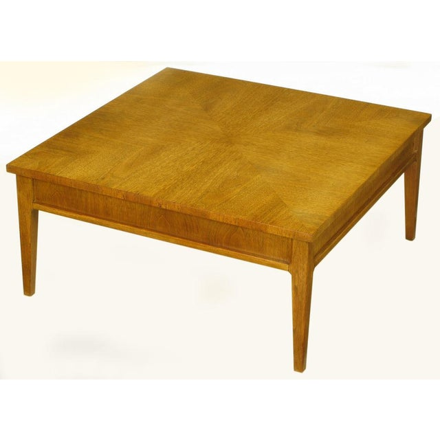 Michael Taylor For Baker New World Mahogany Coffee Table - Image 5 of 8