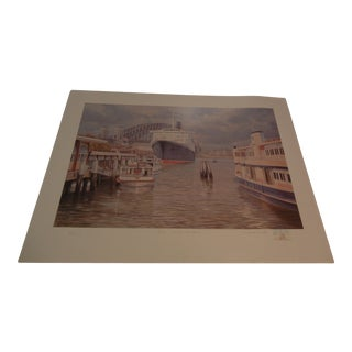 Vintage Silkscreen Lithograph by William Smith