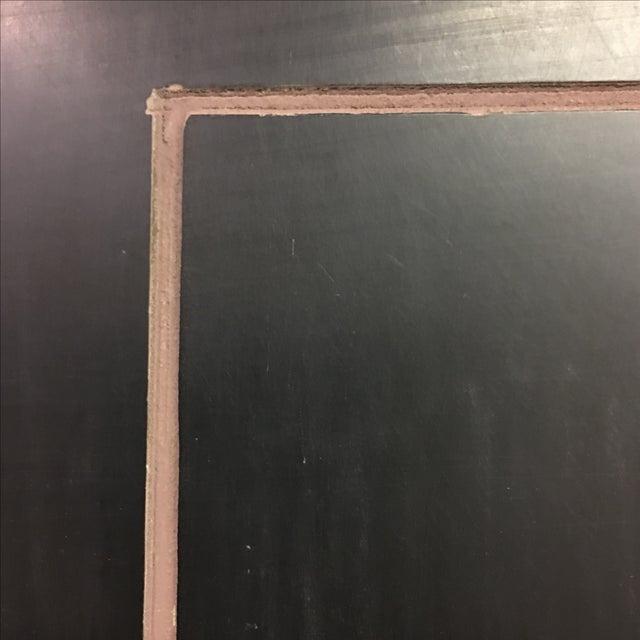 Four Panel Metallic Chinese Screen - Image 9 of 10