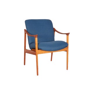 Mid-Century Teak Arm Chair by Rastad & Relling