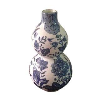 Ginger Jar Blue and White Chinoiserie Vase