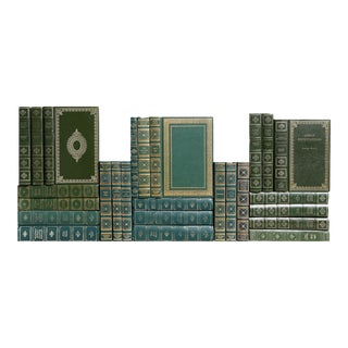 Ornate Green & Gilt Classics - Set of 26