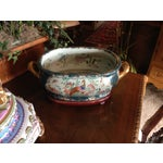 Image of Antique Chinese Chinoiserie Asian Gilt Foot Bath