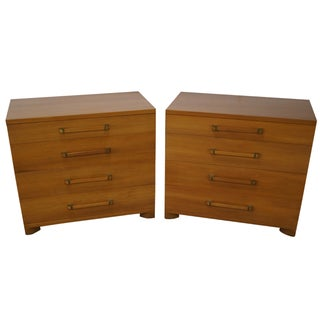 Widdicomb Mid-Century Four-Drawer Chests - A Pair