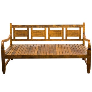 Handmade Reclaimed Wood Provincial Daybed