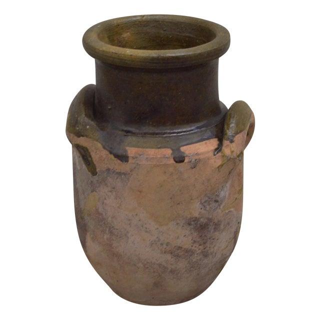 Greek Antique Pottery - Glazed Koyroypa - Image 1 of 4