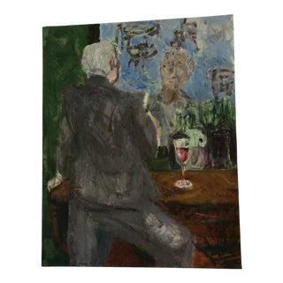 Homme Oui Bar Painting