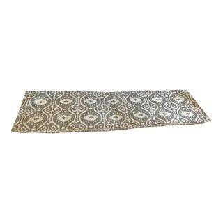 Custom Ikat Lumbar Pillow Cover