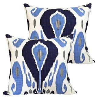 Bodrum Ikat Accent Pillows - A Pair