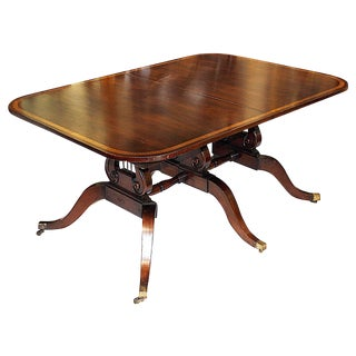 1940s Mahogany Pedestal Table