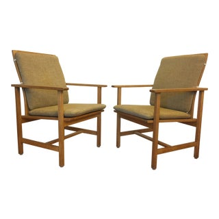 Borge Mogensen Model 2257 Chairs - A Pair