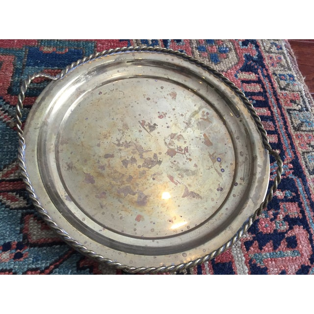 Vintage Brass Tray - Image 3 of 5
