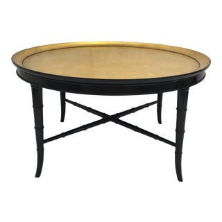 Kittenger Faux Bamboo Cocktail Table